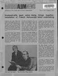 Morris ALUMNews Vol. 11, No. 1 by University of Minnesota, Morris Alumni Association