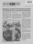 Morris ALUMNews Vol. 15, No. 1 by University of Minnesota, Morris Alumni Association