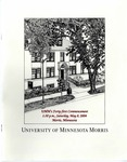 University of Minnesota, Morris 2004 Commencement