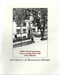 University of Minnesota, Morris 2003 Commencement
