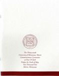 University of Minnesota, Morris 2002 Commencement