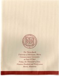 University of Minnesota, Morris 1997 Commencement