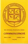 University of Minnesota, Morris 1982 Commencement by University Relations