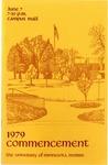 University of Minnesota, Morris 1979 Commencement by University Relations