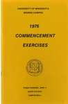 University of Minnesota, Morris 1976 Commencement