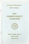University of Minnesota, Morris 1973 Commencement