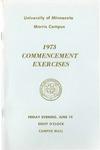 University of Minnesota, Morris 1973 Commencement by University Relations