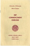 University of Minnesota, Morris 1967 Commencement