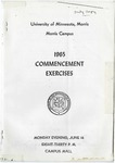 University of Minnesota, Morris 1965 Commencement