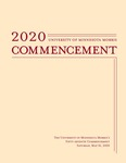 University of Minnesota, Morris 2020 Commencement