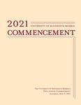 University of Minnesota, Morris 2021 Commencement