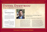 Daniel Demetriou by Briggs Library and Grants Development Office