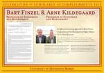 Bart Finzel & Arne Kildegaard by Briggs Library and Grants Development Office