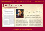 Jon Anderson by Briggs Library and Grants Development Office