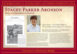 Stacey Parker Aronson by Briggs Library and Grants Development Office