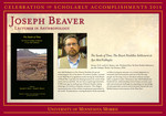 Joseph Beaver by Briggs Library and Grants Development Office