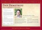 Dan Demetriou by Briggs Library and Grants Development Office