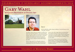 Gary Wahl by Briggs Library and Grants Development Office