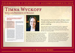 Timna Wyckoff by Briggs Library and Grants Development Office