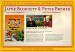 Jayne Blodgett & Peter Bremer by Briggs Library and Grants Development Office