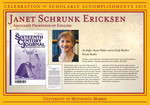 Janet Schrunk Ericksen by Briggs Library and Grants Development Office