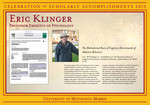 Eric Klinger by Briggs Library and Grants Development Office