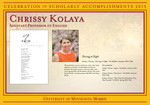 Chrissy Kolaya by Briggs Library and Grants Development Office