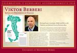 Viktor Berberi by Briggs Library and Grants Development Office