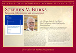 Stephen V. Burks by Briggs Library and Grants Development Office