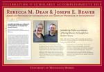Rebecca M. Dean & Joseph E. Beaver by Briggs Library and Grants Development Office