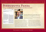 Bibhudutta Panda by Briggs Library and Grants Development Office