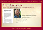 Paul Peterson by Briggs Library and Grants Development Office
