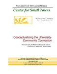 Conceptualizing the University-Community Connection by Benjamin Winchester and Luke Vanasse