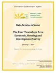 The Four Townships Area Economic, Housing, and Development Survey by Engin Sungur PhD, Kelly Asche, David Fluegel, Reid Ronnander, Jacob Bibeau, and Meara Hove