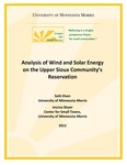 Wind and Solar Analysis