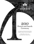 Student Honors and Awards Program 2010 by University Relations