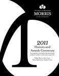 Student Honors and Awards Program 2011 by University Relations