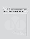 Student Honors and Awards Program 2012 by University Relations