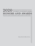 Student Honors and Awards Program 2020 by Communications and Marketing