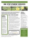 One Stop Student Services Newsletter: Summer 2020 by One Stop Student Services