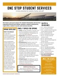 One Stop Student Services Newsletter: Spring 2021 by One Stop Student Services