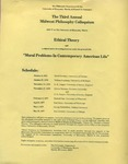 Third Annual Midwest Philosophy Colloquium, 1976-1977