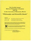 Twelfth Annual Midwest Philosophy Colloquium, 1987-1988 by University of Minnesota - Morris. Philosophy Department