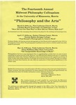 Fourteenth Annual Midwest Philosophy Colloquium, 1989-1990