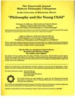 Nineteenth Annual Midwest Philosophy Colloquium, 1994-1995 by University of Minnesota - Morris. Philosophy Department