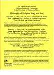 Twenty-Eighth Annual Midwest Philosophy Colloquium, 2003-2004