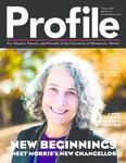 Profile: New Beginnings: Meet Morris's New Chancellor