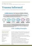 Trauma Informed E-Newsletter: Issue 1
