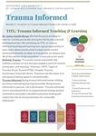 Trauma Informed E-Newsletter: Sept. 2021 Quarter 1