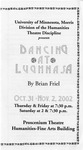Dancing at Lughnasa, Oct. 31- Nov. 2, 2002